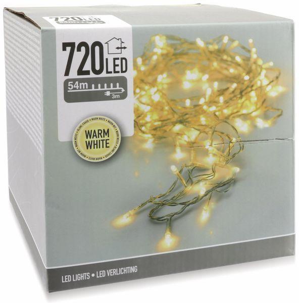 LED-Lichterkette, 720 LEDs, warmweiß, 230V~, IP44, Innen/Außen - Produktbild 5
