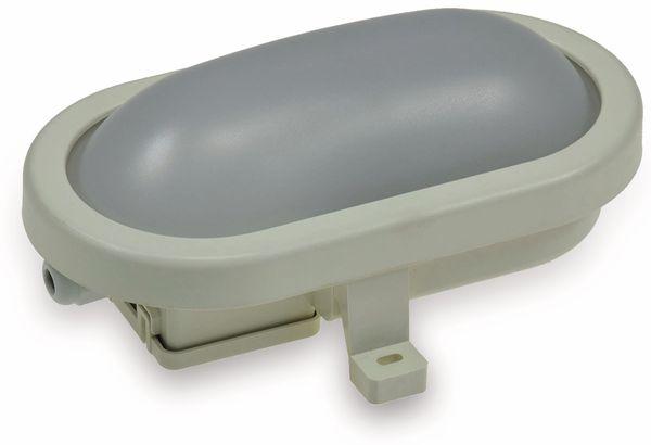 LED-Oval-Leuchte 22264, EEK: A+, 6 W, 480 lm, 3000 K, 170 mm, grau