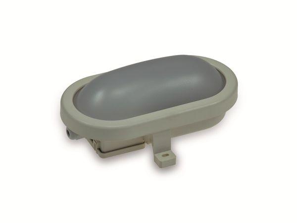 LED-Oval-Armatur 22265, EEK: A+, 6 W, 500 lm, 4200 K, 170 mm, grau - Produktbild 1