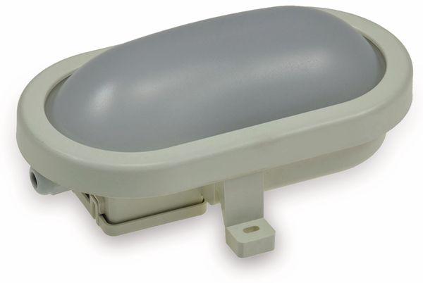 LED-Oval-Leuchte 22265, EEK: G, 6 W, 500 lm, 4200 K, 170 mm, grau