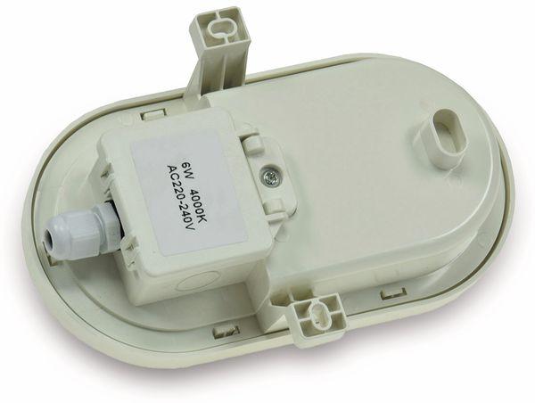 LED-Oval-Leuchte 22265, EEK: G, 6 W, 500 lm, 4200 K, 170 mm, grau - Produktbild 2