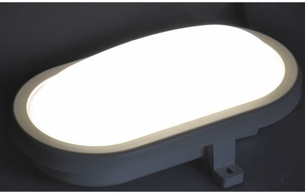 LED-Oval-Leuchte 22265, EEK: G, 6 W, 500 lm, 4200 K, 170 mm, grau - Produktbild 3