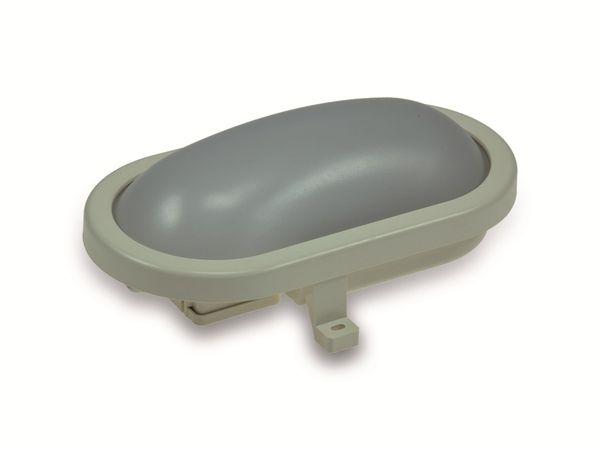 LED-Oval-Armatur 22266, EEK: A+, 12 W, 960 lm, 3000 K, 216 mm, grau - Produktbild 1
