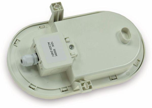 LED-Oval-Leuchte 22266, EEK: G, 12 W, 960 lm, 3000 K, 216 mm, grau - Produktbild 2