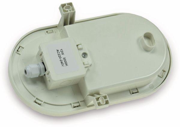 LED-Oval-Armatur 2227, EEK: A+, 12 W, 1000 lm, 4200 K, 216 mm, grau - Produktbild 2