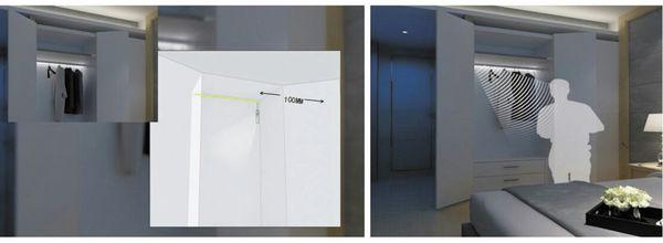 LED Strip mit Bewegungsmelder, 4000K, Batteriebetrieb, 100 cm - Produktbild 5