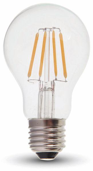 LED-Lampe VT-1885D, E27, EEK: A+, 4 W, 350 lm, 2700 K, dimmbar