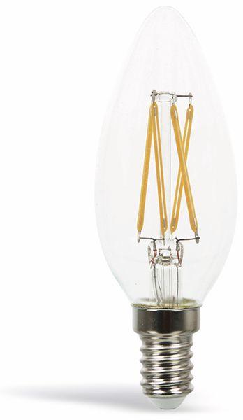 LED-Lampe VT-1986D, E14, EEK: A+, 4 W, 350 lm, 2700 K, dimmbar