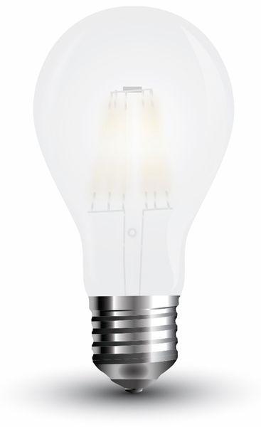 LED-Lampe VT-2047 Frost, E27, EEK: A++, 7 W, 840 lm, 2700 K