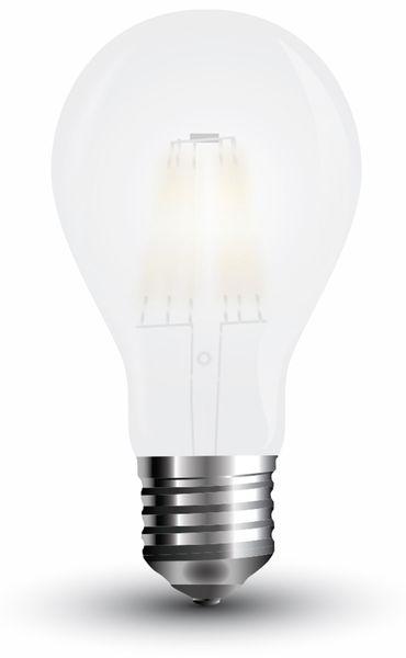 LED-Lampe VT-2023 Frost, E27, EEK: A+, 10 W, 1055 lm, 6400 K