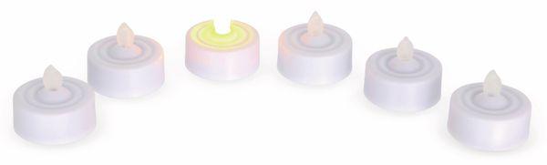 LED-Flackerkerzen, Teelichte, 6 Stück - Produktbild 2