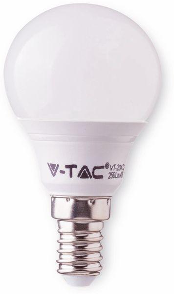 LED-Lampe VT-1880 Frost, E14, EEK: F, 5,5 W, 470 lm, 2700 K