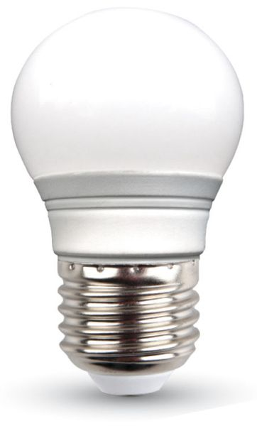 LED-Lampe VT-2053 Frost, E27, EEK: A+, 3 W, 250 lm, 2700 K