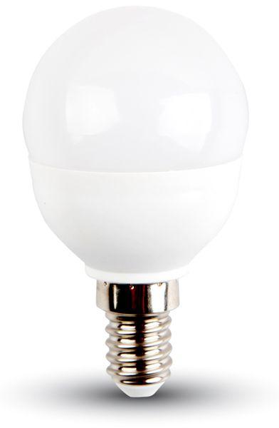 LED-Lampe VT-2043 Frost, E14, EEK: A+, 3 W, 250 lm, 2700 K