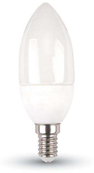 LED-Lampe VT-2033 Frost, E14 Kerze, EEK: A+, 3 W, 250 lm, 2700 K