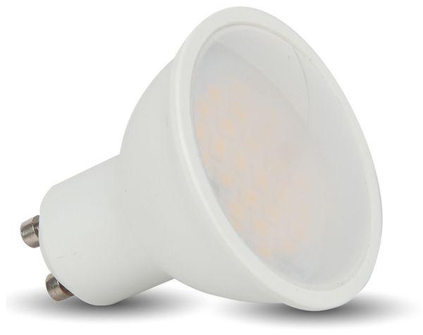 LED-Lampe VT-2887D, GU10, EEK: A+, 7 W, 500 lm, 3000 K, dimmbar