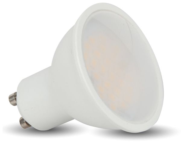 LED-Lampe VT-1975, GU10, EEK: G, 5 W, 400 lm, 3000 K