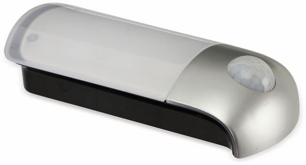 LED-Nachtlicht DAYLITE NL-84040 mit PIR, silber/schwarz