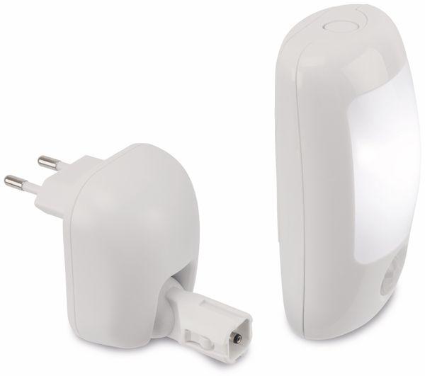 LED Nachtlicht X4-LIVE mit Bewegungsmelder 3 in1, weiß - Produktbild 2