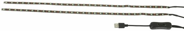 USB LED-Stripe GRUNDIG, 2x 30 LEDs, IP44
