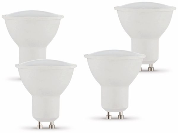 LED-Lampe MÜLLER-LICHT, GU10, EEK: A+, 5 W, 320 lm, 2700 K, 4 Stück - Produktbild 1