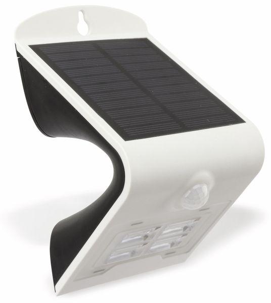 Solar-LED Wandleuchte BRIGHT mit Sensor, 2W, weiß - Produktbild 2