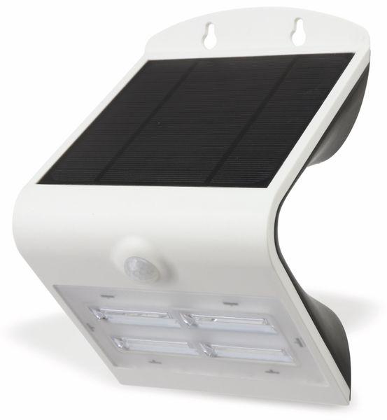 Solar-LED Wandleuchte BRIGHTER mit Sensor, 3,2W, weiß - Produktbild 1