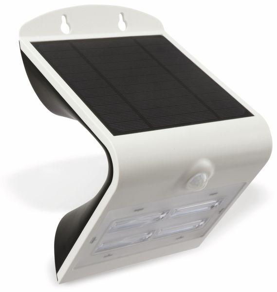Solar-LED Wandleuchte BRIGHTER mit Sensor, 3,2W, weiß - Produktbild 2