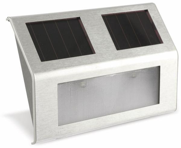 LED Solarstrahler ungeprüfte Retourenware, 2er-Set