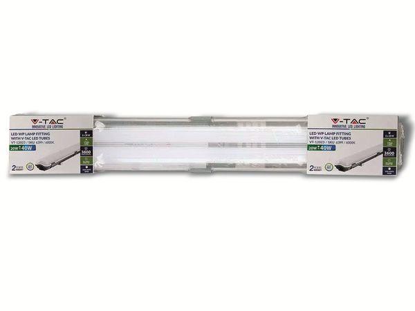 LED-Feuchtraum-Wannenleuchte ,V-TAC VT-12023 (6399) EEK: A+, 2x 18 W, 6400K - Produktbild 3