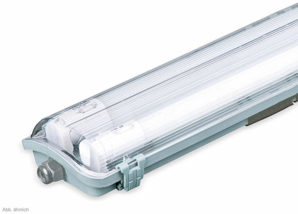 LED-Feuchtraum-Wannenleuchte ,V-TAC VT-15022 (6388) EEK: A+, 2x 22 W, 4000K