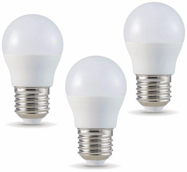 LED-Lampe VT-2176(7364), E27, EEK: F, 5,5 W, 470 lm, 6400 K, 3 Stück
