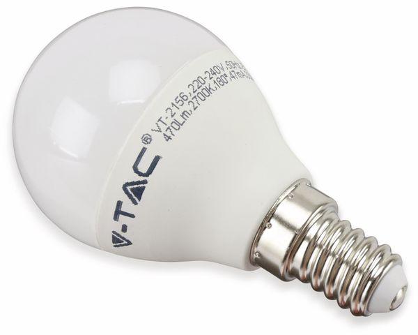 LED-Lampe VT-2156(7357), E14, EEK: A+, 5,5 W, 470 lm, 2700 K, 3 Stück - Produktbild 1