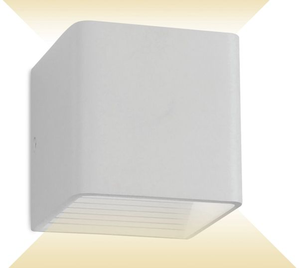 LED-Wand Leuchte V-TAC VT-758(7095), EEK: A++, 5 W, 560 lm, 4000 K, weiß