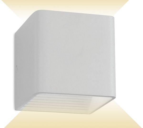LED-Wand Leuchte V-TAC VT-759(7088), EEK: A++, 6 W, 660 lm, 4000 K, weiß