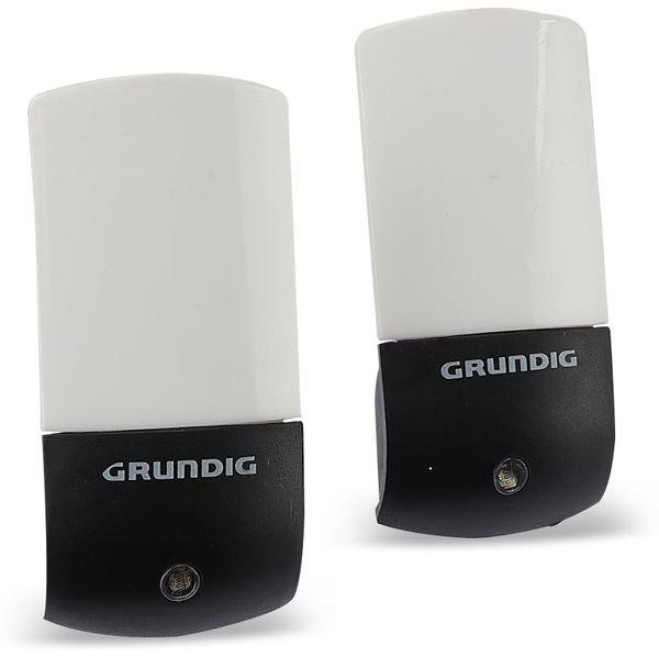 Nachtlicht GRUNDIG mit Dämmerungsautomatik 2 Stück - Produktbild 1