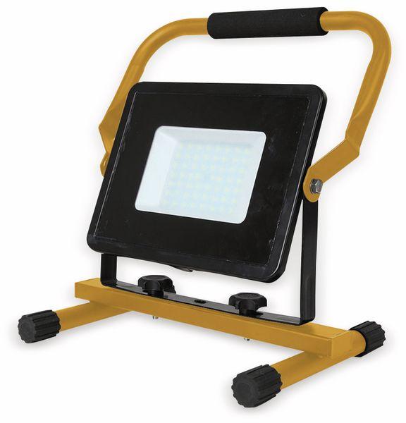 LED-Baustrahler V-TAC VT-4250 (5930), EEK: A+, 50 W, 4250 lm, 6400 K, IP 65