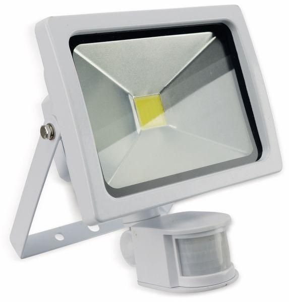 LED-Fluter mit Bewegungsmelder ZTLG, EEK: A, 20 W, 1300 lm, weiß, B-Ware - Produktbild 1