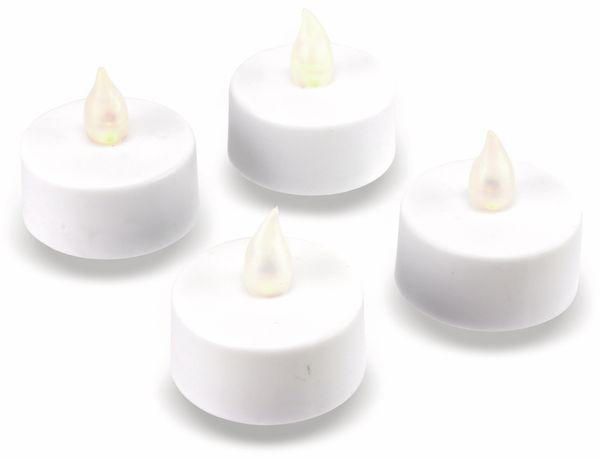 LED-Teelichte GRUNDIG, 4 Stück