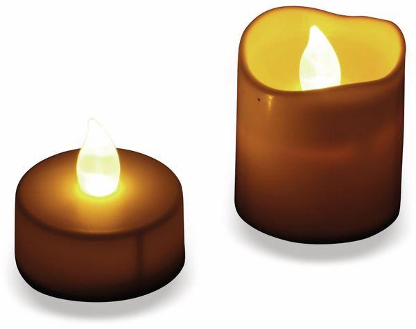 LED-Flackerkerzen-Set GRUNDIG, 16 Stück - Produktbild 2