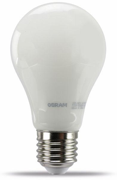 LED-Lampe OSRAM LED BASE A60, E27, EEK A+, 7,2 W, 806 lm, 2700 K, 2 Stück - Produktbild 1
