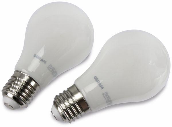 LED-Lampe OSRAM LED BASE A60, E27, EEK A+, 7,2 W, 806 lm, 2700 K, 2 Stück - Produktbild 2