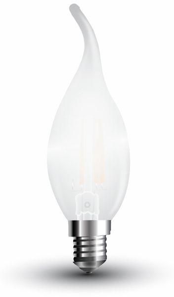 LED-Lampe V-TAC Frost, VT-1937(4477), E14, EEK: A++, 4 W, 400 lm, 2700 K