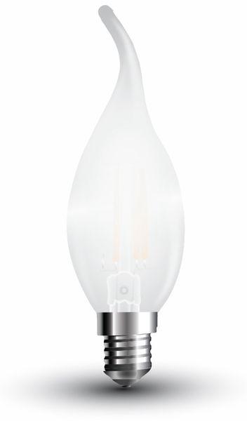 LED-Lampe V-TAC Frost, VT-1937(4478), E14, EEK: A++, 4 W, 400 lm, 6400 K