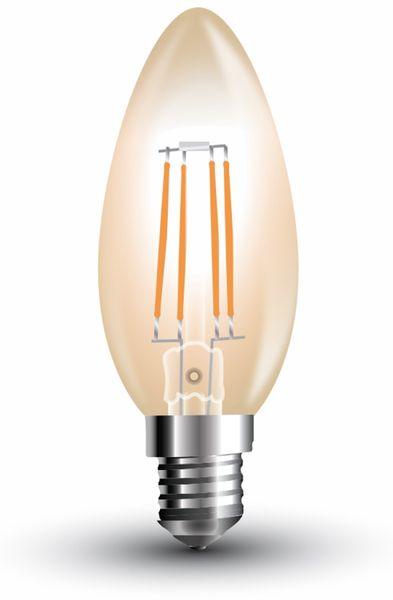 LED-Lampe V-TAC Amber, VT-1955(7113), E14, EEK: A+, 4 W, 350 lm, 2200 K