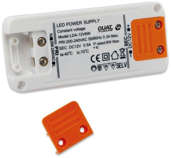 LED-Schaltnetzteil QUATPOWER LN 12V6W, 12 V-, 6 W