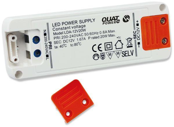 LED-Schaltnetzteil QUATPOWER LN 12V20W, 12 V-, 20 W - Produktbild 2