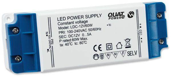 LED-Schaltnetzteil QUATPOWER LN 12V60W, 12 V-, 60 W