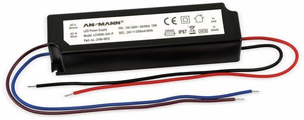 LED-Schaltnetzteil, ANSMANN, LCV60W-24V-P, 24V/2,5A - Produktbild 1