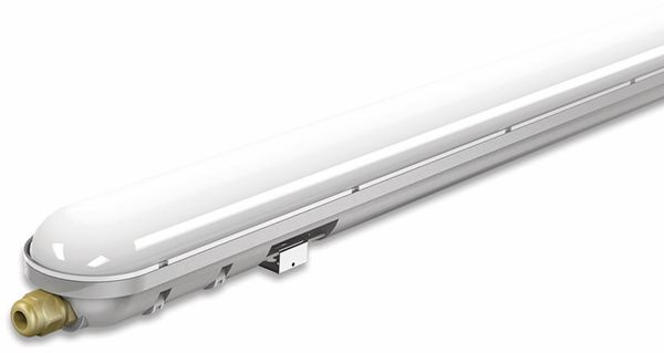 LED-Feuchtraum-Wannenleuchte ,V-TAC VT-1248 (6200) EEK: G, 36 W, 4500K